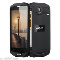 "AGM A8 4G Smartphone 5.0"" Android 7.0 MSM8916 Quad Core 3Go+32Go IP68 étanche"