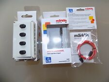 """Märklin H0 """"Start UP"""" Licht-Blocksignal 74391+Kabel 71054+Stellpult 72751"""" NEU"""