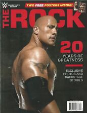 WWE Collector's Edition The Rock Dwayne Johnson 20 Years of Greatness Posters NM