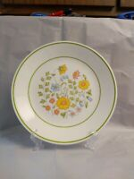"""2 Corelle Luncheon Lunch Plates 8 1/2"""" SPRING MEADOW, Vintage"""