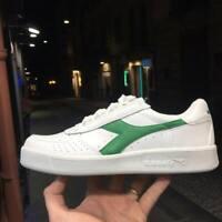 DIADORA B.ELITE in pelle Bianche e verde Uomo donna modello tennis 2019
