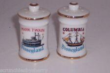 Disneyland Salt Pepper Shakers Mark Twain Columbia Vintage