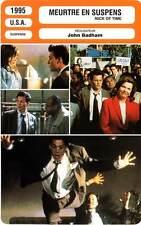 FICHE CINEMA : MEURTRE EN SUSPENS - Depp,Walken,Badham 1995 Nick Of Time