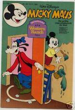 MICKY MAUS 1978-1995 mit Beilagen 200 Hefte (0-1-) TOP !  Ehapa Hefte