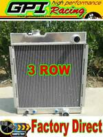 56mm 3 core aluminum radiator FORD MUSTANG V8  289  302 64 65 66