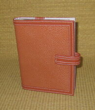 Clutch FRANKLIN COVEY | Orange LEATHER Photo Album *Matches Planner/Binder*