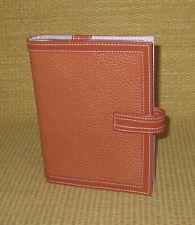 Clutch Franklin Covey Orange Leather Photo Album Matches Plannerbinder