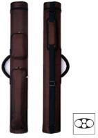 Delta 1x1 Rugged Nylon Macaron 1 Butt 1 Shaft Pool Cue Stick Case Brown