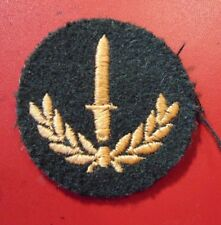 CANADA Canadian Armed Forces trade INFANTRY qualification black badge level 2