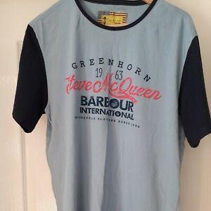 Barbour Steve McQueen xl Tee shirt