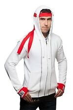 New (MEDIUM) Street Fighter Hoodie Licensed Capcom Hoody Sweater Ryu Costume