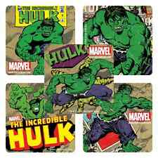 """25 Incredible Hulk Stickers, 2.5"""" x 2.5"""" each, Party Favors"""