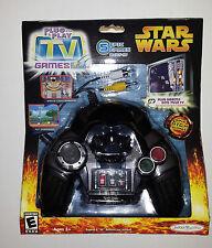 Star Wars 2005 Darth Vader Plug & Play TV Game, NEW Sealed, BONUS