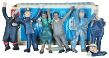 1950s Creative Playthings Bendable Community Workers Mid Century Toys