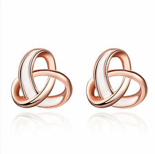 Jewelry Hot Rose Gold Fashion For Women Girls Earrings Ear Stud Graceful
