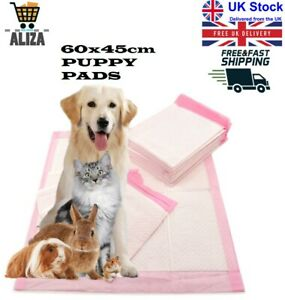 Aliza Large Size 60x45cm Super Absorbent Multi-Layer Puppy Training Pads | Pink