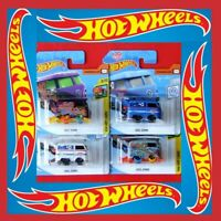 Hot Wheels   4 Stück Volkwagen KOOL KOMBI    1x TREASURE HUNT      NEU&OVP