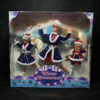 Kid Kore Winter Wonderland 3 Pack Kelsey Katie & Jodi Fashion Dolls NRFB 1340