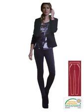 Markenlose M Damen-Leggings ohne Muster