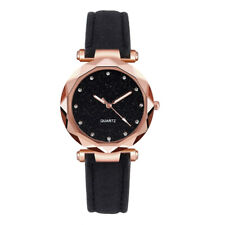 Women Ladies Watch Multicolored Stainless Steel Rhinestone Wrist Watches Gift