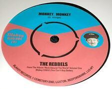 """Le rebbels - """"Singe Monkey"""" C/W Western Allstars - """"Teenage Boogie"""" les entendre!"""