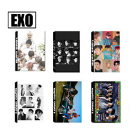 Lot of /set Kpop EXO CBX Collective Album Posters Photo Card Lomo Card Bookmark