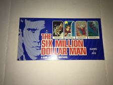 RARE Vintage 1975 SIX MILLION DOLLAR MAN Boardgame FACTORY SEALED BRAND NEW
