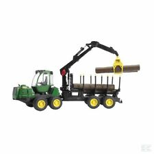 Bruder John Deere Forwarder Forestry Machine 1:16 Scale Model Age 3+