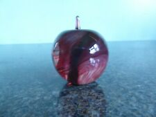 Isle of Wight Glass - Apple Paperweight