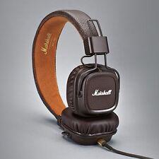 Marshall Major MK II 2 Brown Headphones New Generation Headset Remote Mic