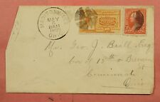 #E3 SPECIAL DELIVERY ON 1895 DPO 1828-1898 MADISONVILLE OH OHIO