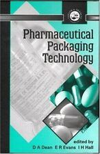 Pharmaceutical Packaging Technology (2000, Hardcover)