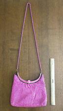 VINTAGE Retro Hot Pink Glomesh Handbag/Purse with Long Chain, CUTE!