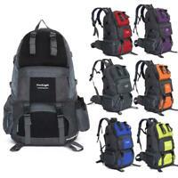 50L Backpack Climbing Hiking Bag Rucksack Camping Travel Waterproof Pack Colors