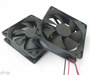 1pc 92x92x25mm 9025 7 blades 5V 12V 24V 2pinSquare Brushless DC Cooling Fan
