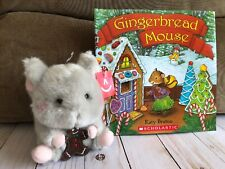 Toy + Story Christmas Gift Set Gingerbread Mouse Book + Soft Aurora Mouse Toy