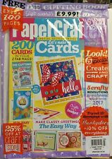 Paper Crafter UK Issue 103 Free Die Cutting Book Make Cards FREE SHIPPING sb
