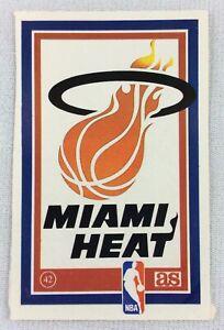 NBA 1989 Miami Heat AS Basketball Logo Sticker