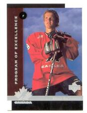 1997-98 Upper Deck #418 Brad RICHARDS  RC -  Program of   Excellence