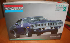 Monogram 1971 Hemi Cuda Kit # 2943 1:24 Factory Sealed