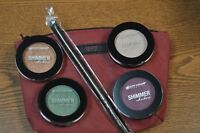 """4 Color City Shimmer Shadow Eyeshadow~w/Luxie Brush and Ipsy Bag """"Best Deal"""""""