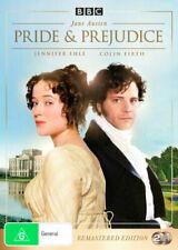 Pride and Prejudice (DVD, 1995, Set of 2 Disks, Remastered Edition)