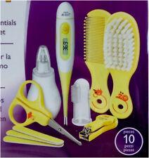 Philips Avent SCH400/30 Babypflege-Set im Etui mit Thermometer, Nagelschere NEU