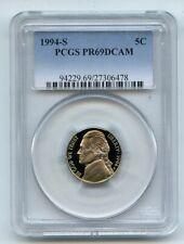 1994 S 5C Jefferson Nickel Proof PCGS PR69DCAM