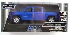 American Legends Chevy Silverado 1500 LT Z71 Crew Cab Blue Diecast Vehicle MISB