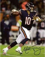 "Mitchell Trubisky Chicago Bears Autographed 8"" x 10"" Throwing Photo - Fanatics"