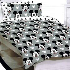 Mickey Mouse - Faces - Disney - Double/US Full Bed Quilt Doona Duvet Cover Set