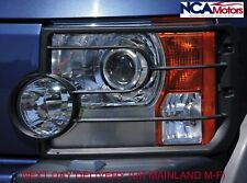 Land Rover Discovery 3 Front Headlight Light Guard Set with Fittings VUB501200