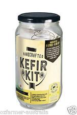 1 x Kefir Kit Complete Natural Organic Probiotics With Jar & Cultures
