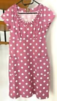 ☆Joules Cotton Spotty Dress with Pockets☆Size 12☆Excellent condition!☆